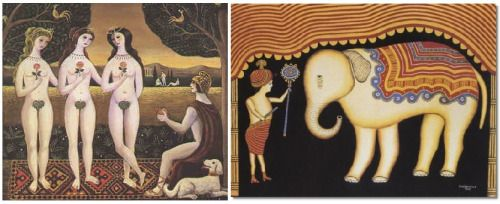 Of Delicious Recoil • Morris Hirshfield: April 10, 1872- July 26, 1946