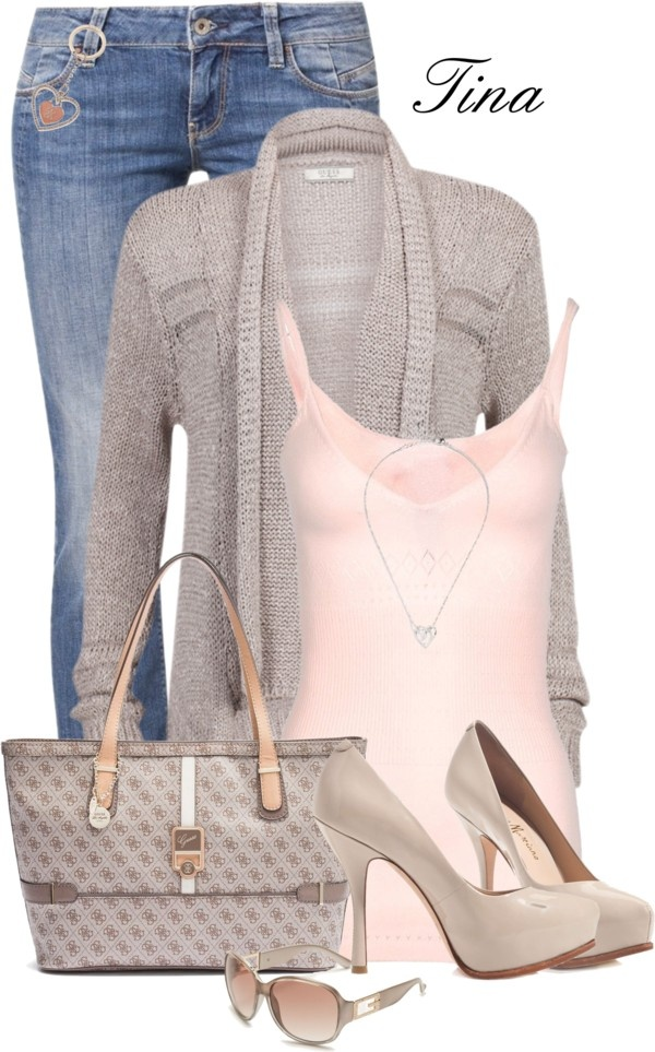 """""""Spring with Guess"""" by martina-16 ❤ liked on Polyvore"""