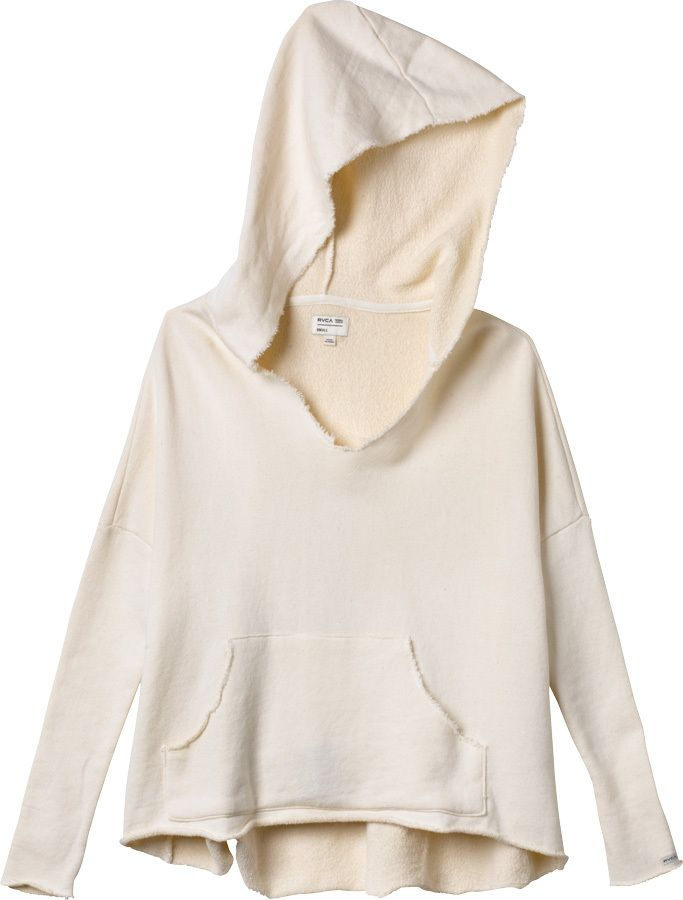 French terry pullover sweatshirt