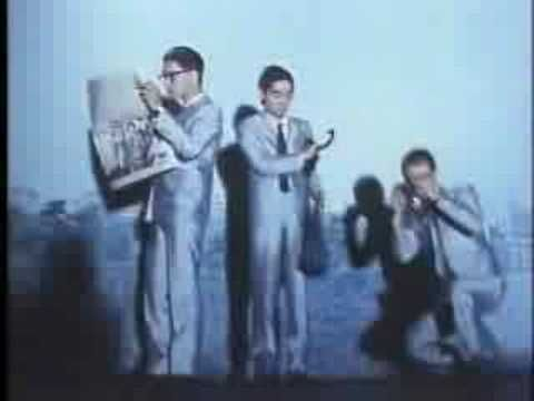 "fujifilm Ad '80 / YMO ""TECHNOPOLS"""