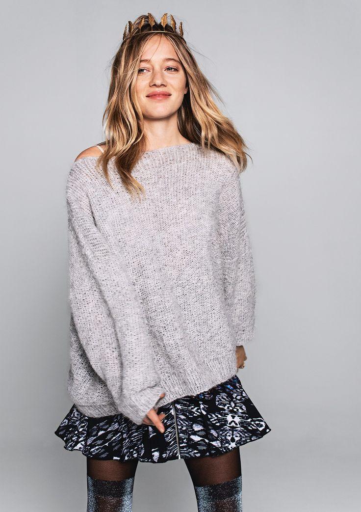 oversized sweater Sandnes garn