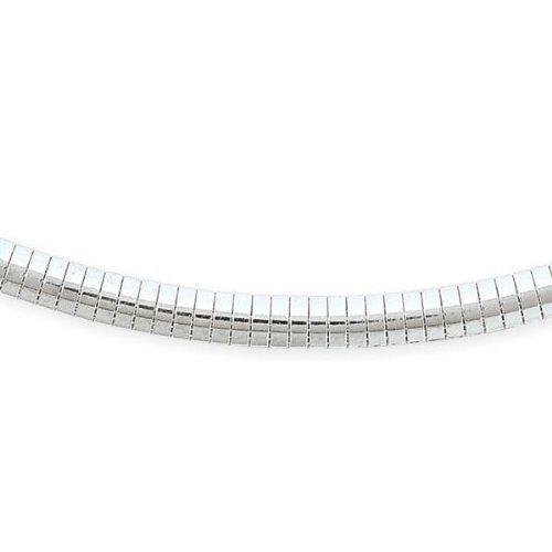 6mm Sterling Silver Omega Bracelet, 7 inch Jewelryimpressions. $60.90. Packaged in a Box. Designer Style. .925 Sterling Silver. Fine Craftsmanship. Save 30%!