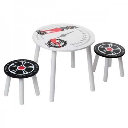 Kidsaw Speed Racer Table and Stools