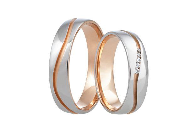 Snubní prsteny - model č. 375/02