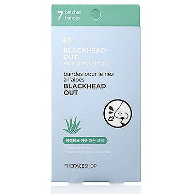 The-face-shop-Blackhead-Out-Aloe-Nose-Strips-7pcs-in-1pack Price:US $3.92 Description: Blackhead nose strips with aloe extract. Visit: http://www.ebay.com/itm/The-face-shop-Blackhead-Out-Aloe-Nose-Strips-7pcs-in-1pack-/331266816579?ssPageName=STRK:MESE:IT
