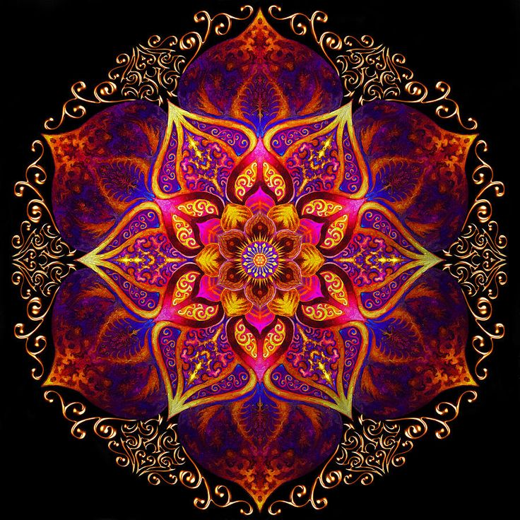 Mandalas are beautiful images that have strong symbolic meaning. Image by Raum Fuer Stille.