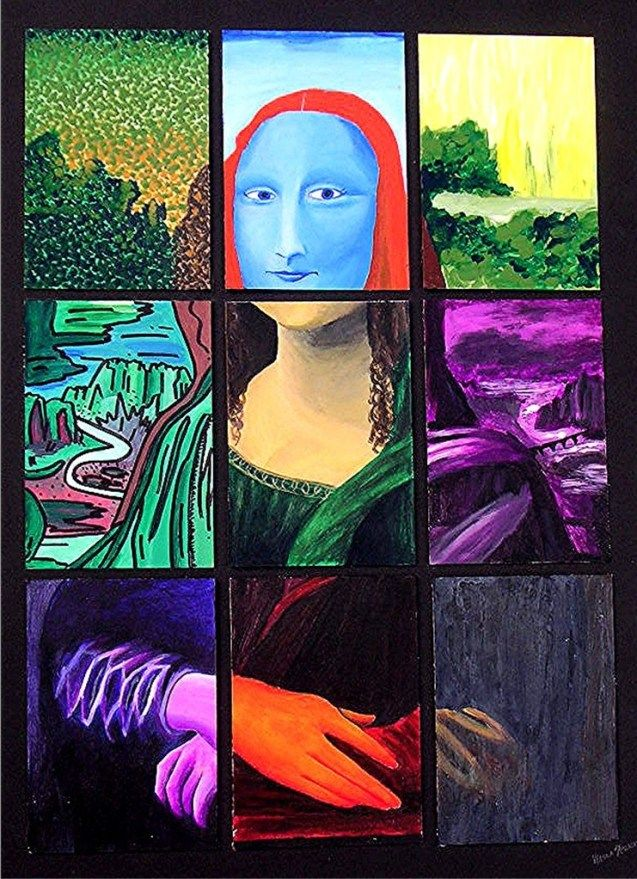 0452 [kAeLa Speicher] Abstract Mona Lisa