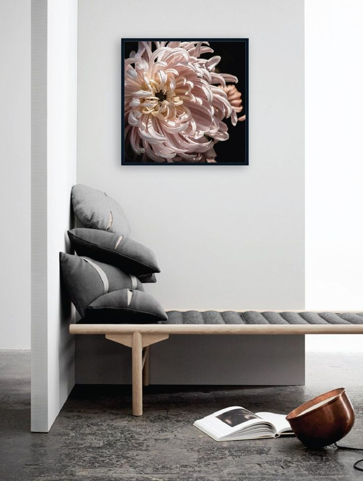 Les Fleur #2 by Wall Style.. Looking STUNNING teamed with contemporary grey and oak hues.