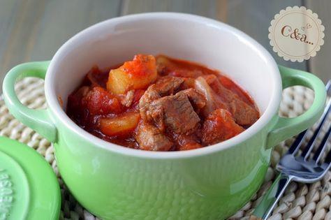 Cucinando e assaggiando...: Stufato di cinghiale con patate