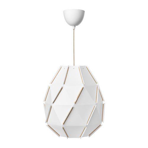 IKEA - SJÖPENNA, Loftlampe, , Diffust lys, der giver god generel belysning i rummet.