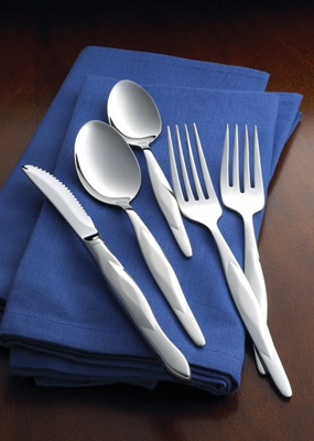 5-Pc. Stainless Place Setting With Stainless Table Knife by CUTCO Cutlery