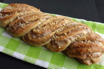 Nusszopf (Rezept von einem Bäckermeister)