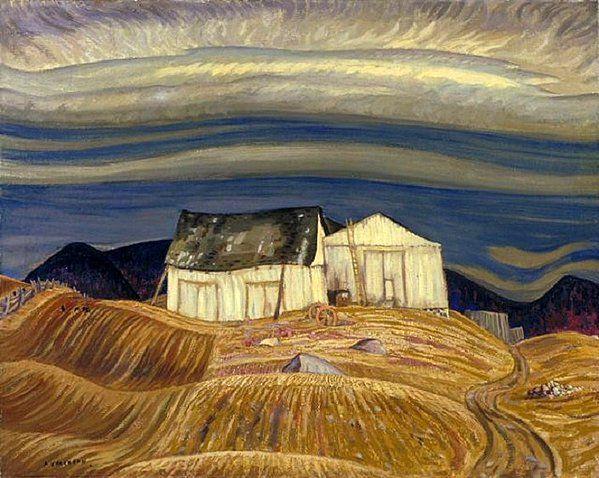 A.Y. Jackson - A Quebec Farm, 1930