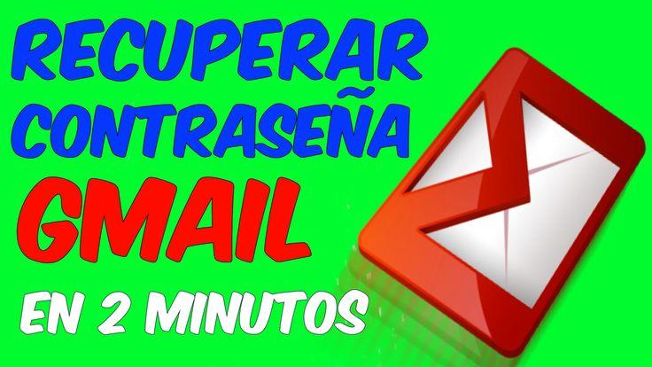 RECUPERAR UNA CONTRASEÑA DE CUENTA GMAIL EN 2 MINUTOS Aprende como recuperar una #contraseña de #gmail en 2 minutos, sin cometer errores, Forma facil y rápida de recuperar una cuenta de #correo electrónico de gmail
