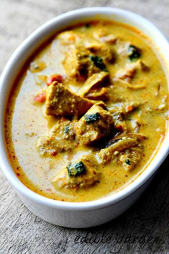 easy curry recipe with coconut milk, use garbanzos in place of chicken