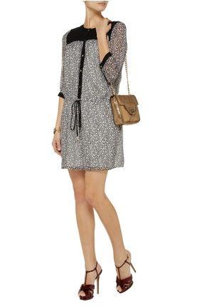 Diane von Furstenberg - Marcy printed silk-chiffon dress