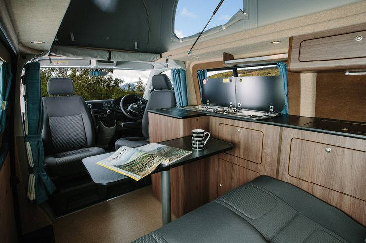 Decoration Interieur Camping Car The New Vw T6 Campervan | Vw Camper | Camper Interior