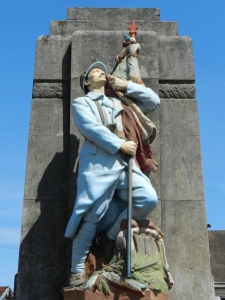 Monument aux morts – Eclaron, Champagne-Ardenne