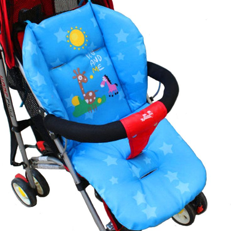 Cushion Cart Stroller Cartoon Baby Stroller Seat mattresses Pillow Cover Car Child Carriage Cushion Thermal Thicken Pad TSP358 #>=#>=#>=#>=#> Click on the pin to check out discount price, color, size, shipping, etc. Save and like it!