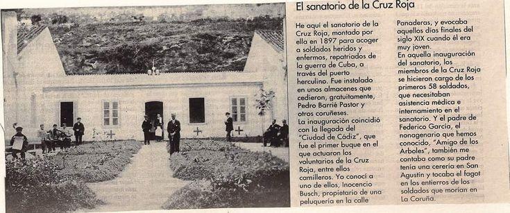 Sanatorio Cruz Roja repatriados Cuba