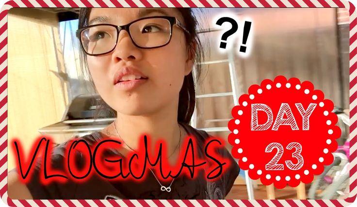 VLOGMAS Day 23, 2015 - DECORATING BY MYSELF?! | Ginaslifee