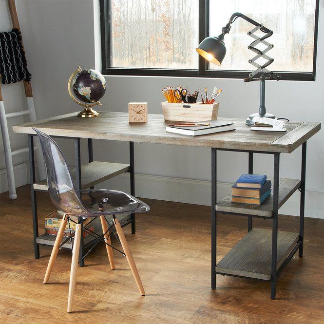 industrial metal frame desk in 2018 river house accent tables rh pinterest com