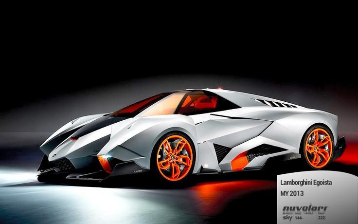 Lamborghini Egoista, il concept presentato in occasione del 50esimo anniversario del marchio.  http://www.nuvolari.tv/anteprime/lamborghini-egoista