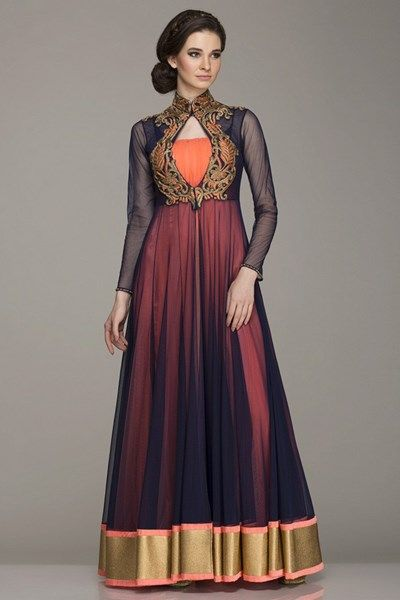 Zari embroidered | Kamaali Couture