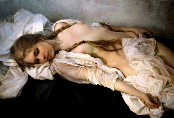 Это не фотографии. Это работы русского художника-реалиста Сергея Маршенникова.