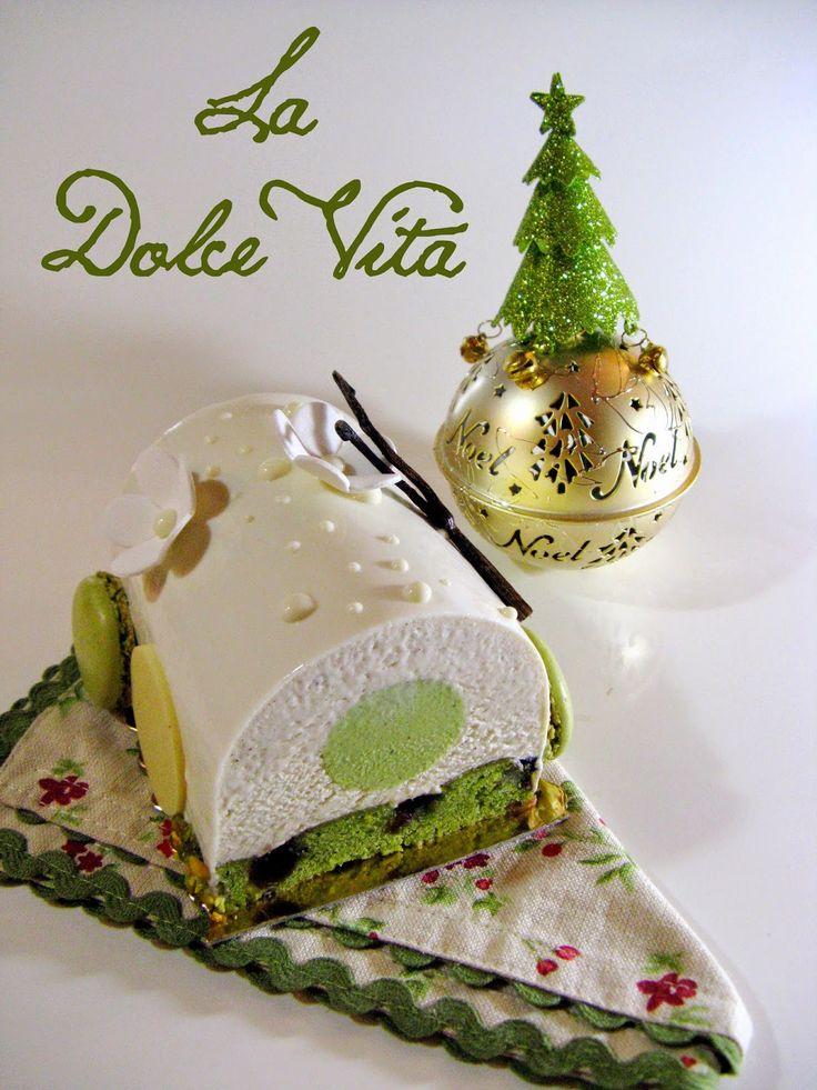 J'en reprendrai bien un bout...: La Dolce Vita - Bûche Noël 2014 -