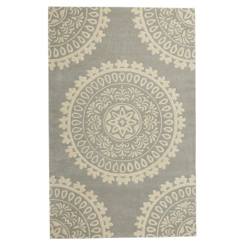 Found it at Joss & Main - Erica Blue Wool Hand-Tufted Area Rug