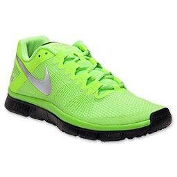 Men's Nike Free Trainer 3.0 Cross Training Shoes   FinishLine.com   Flash  Lime/. Green Nike ShoesNike Air Max ...