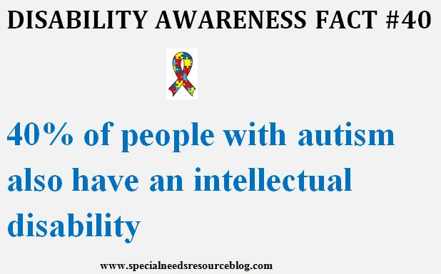 Autism fact #40