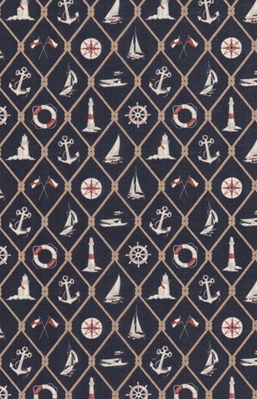 Ralph lauren nautical wallpaper connor 39 s room - Ralph lauren wallpaper ...