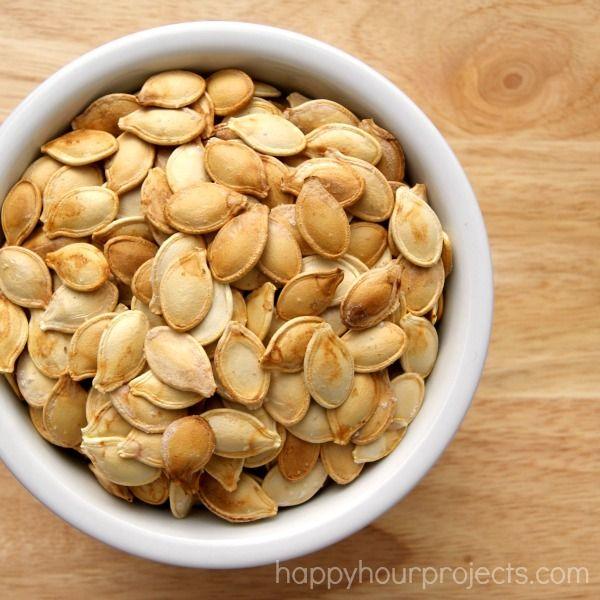 Herb pumpkin seeds