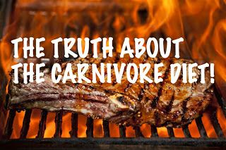 Lola's Life Lessons: The truth about the CARNIVORE DIET! CARNIVORE DIET...