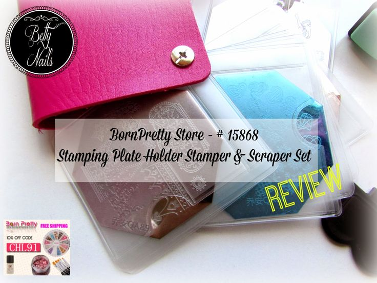 Betty Nails: Born Pretty Store - Stamping Plate Holder Review