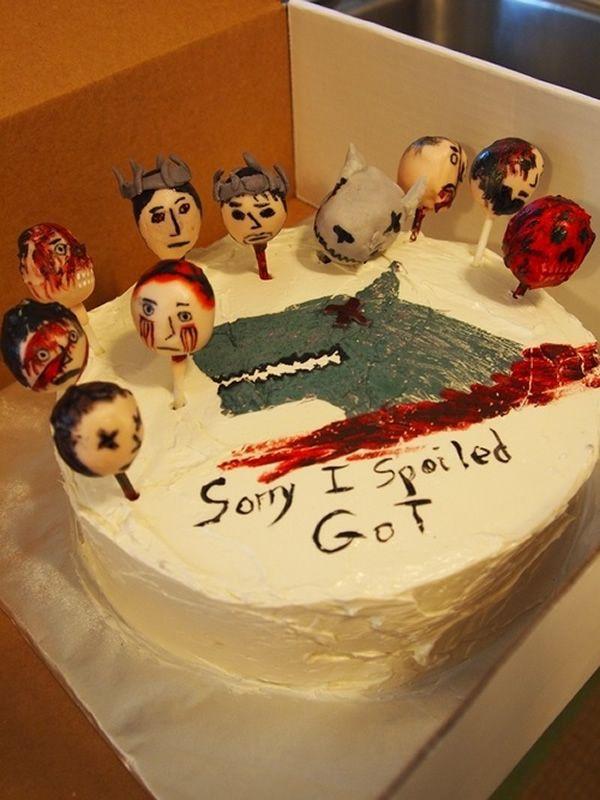 10 Strangely Specific Apology Cakes - Neatorama