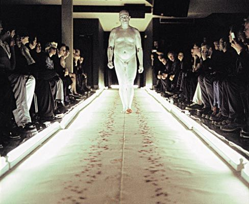 Franko B - I remember seeing him in Colchester years ago! Moving, epic and beautiful! I miss studying Performance Art!