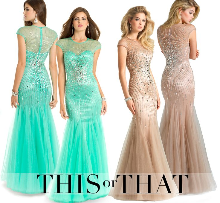 Camille La Vie long beaded dresses for Homecoming and PromGowns