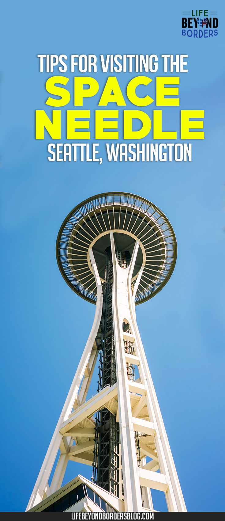 The Space Needle, Seattle, Washington. A hang over from the 1962 World's Fair, it's a must visit.