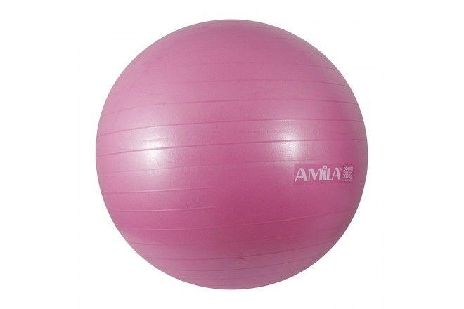 Μπάλα Γυμναστικής 65 cm Amila 48418 | kinissis.eu