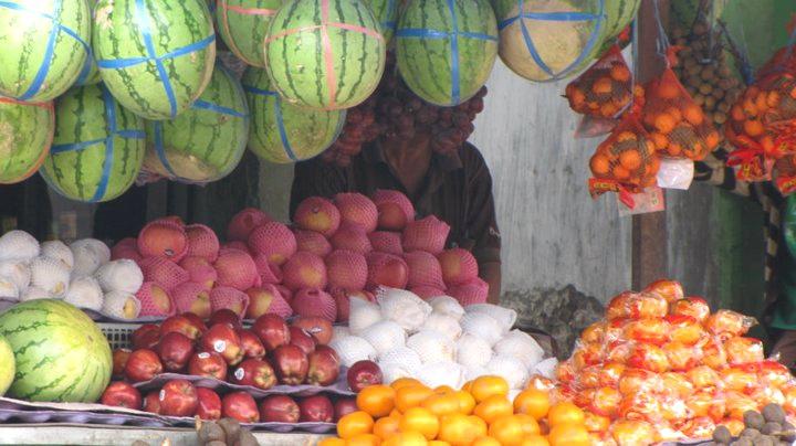 Pedagang Buah-buahan