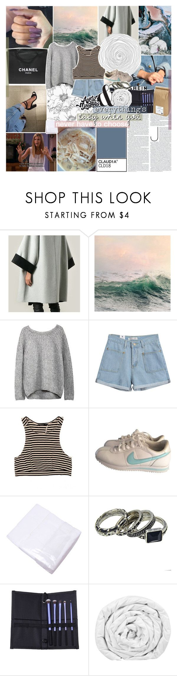 """give me everything that you want to forget"" by kristen-gregory-sexy-sports-babe ❤ liked on Polyvore featuring Viktor & Rolf, Chanel, WALL, Chicnova Fashion, NIKE, KEEP ME, Brinkhaus and Davidson's"