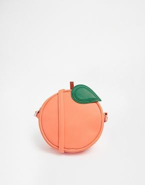 Enlarge ASOS Peach Cross Body Bag. I really like this cute little guy.