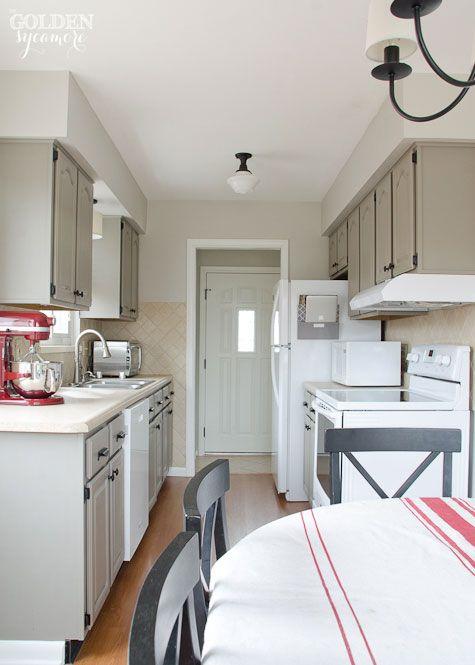 best Annie Sloan Chalk Painted Kitchens  on Pinterest