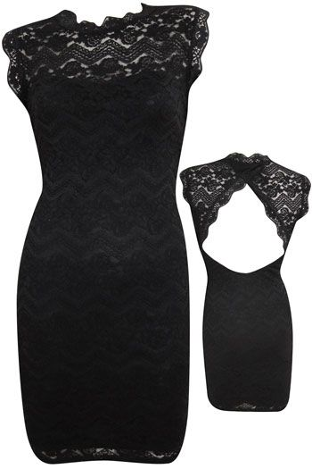 prettyCocktails Dresses, Backless Dresses, Parties Dresses, Black Laces, Open Backs, Black Lace Dresses, Little Black Dresses, Cut Out, Black Love
