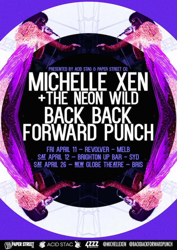 Michelle Xen + Back Back Forward Punch: East Coast Co-Headline Tour | acid stag