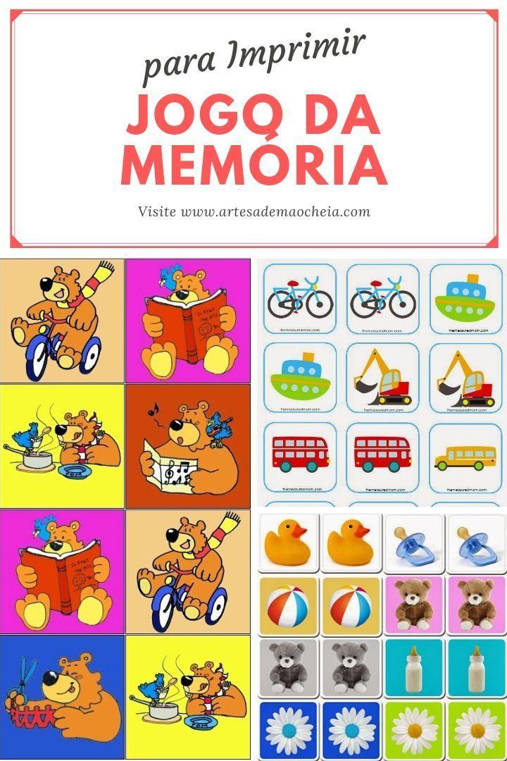 Jogo Da Memoria Para Imprimir 18 Modelos Para Divertir As Criancas Atividades Educativas Para Imprimir Alfabetizacao Na Educacao Infantil Educacao Infantil