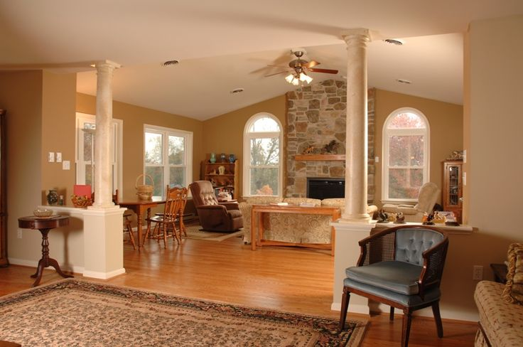 Pictures of great room additions borsa residence for Adding sunroom to ranch house